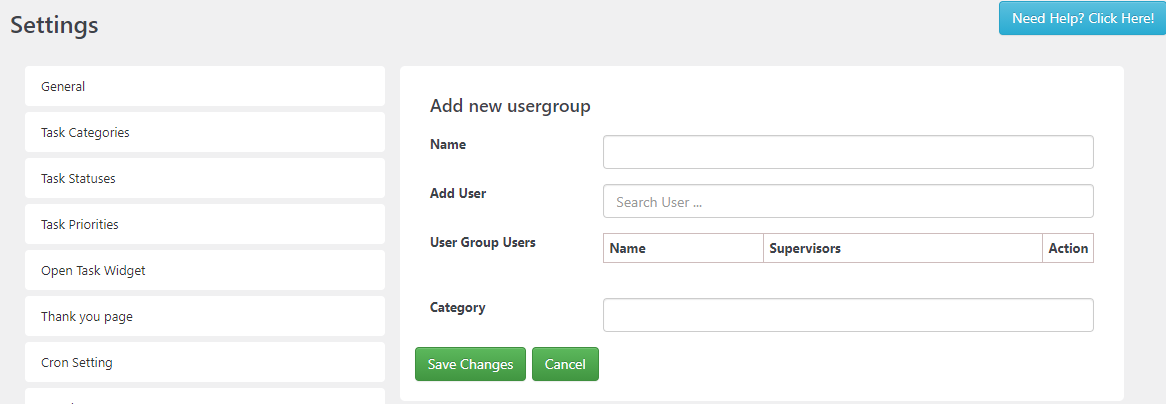SC Add New User Group